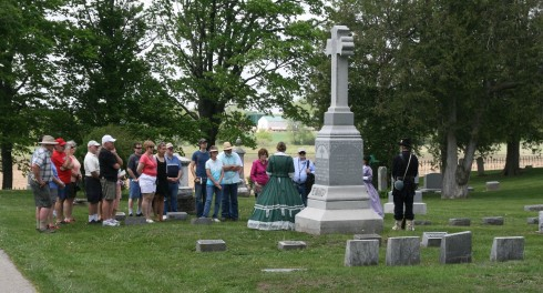 ECT Cemetery Crowd